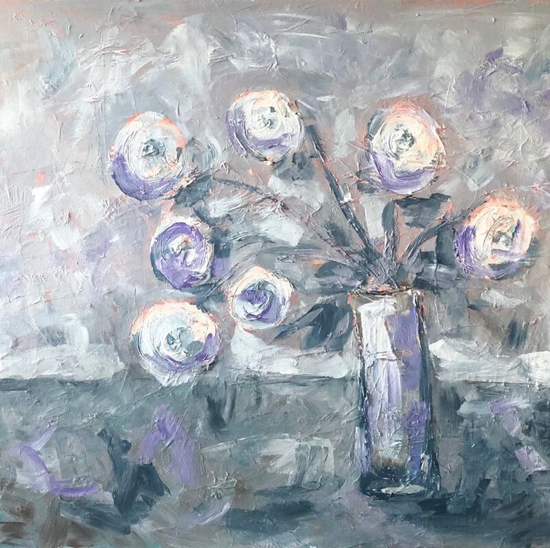 Jenny King Artist Florals Commissions