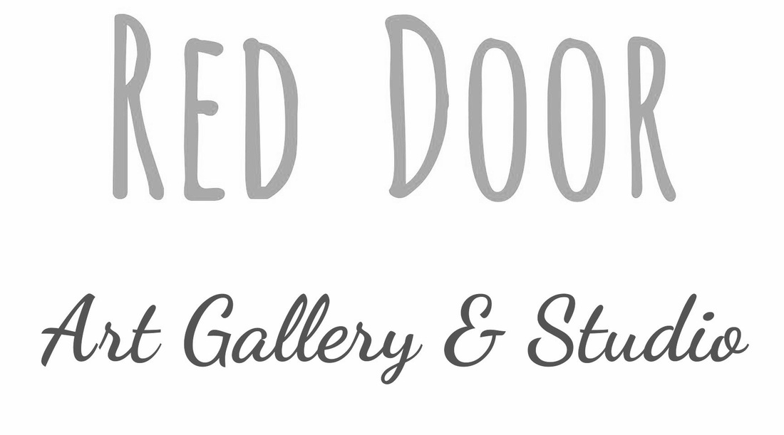 Jenny King owner Red Door Art Gallery and Studio on Marietta Square